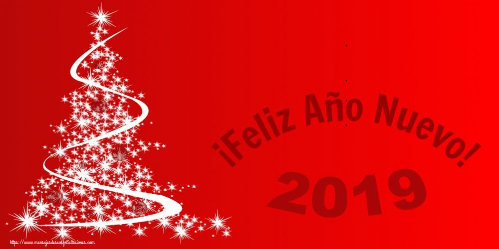 Felicitaciones de Año Nuevo - ¡Feliz Año Nuevo!