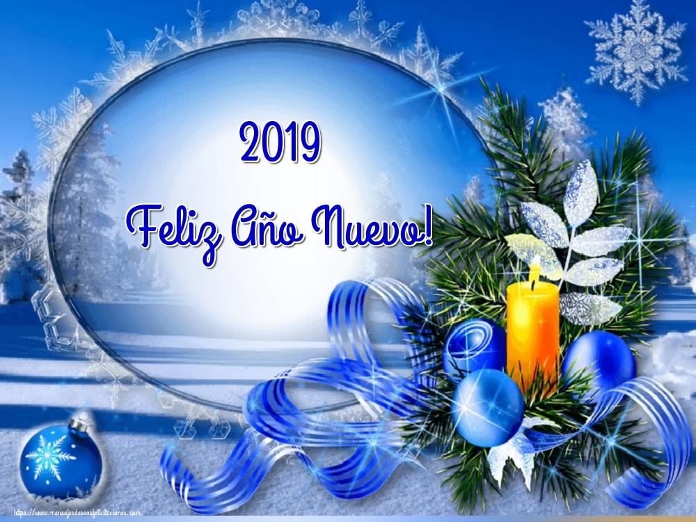 Felicitaciones de Año Nuevo - 2019 Feliz Año Nuevo!