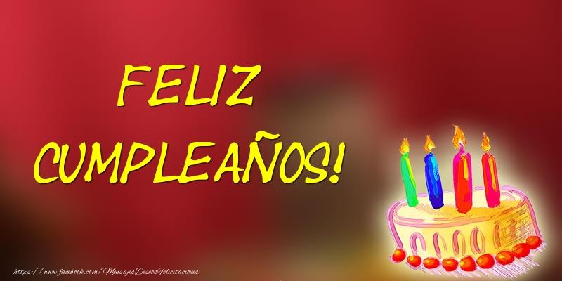 Felicitaciones de cumpleaños - Feliz Cumpleaños! - mensajesdeseosfelicitaciones.com