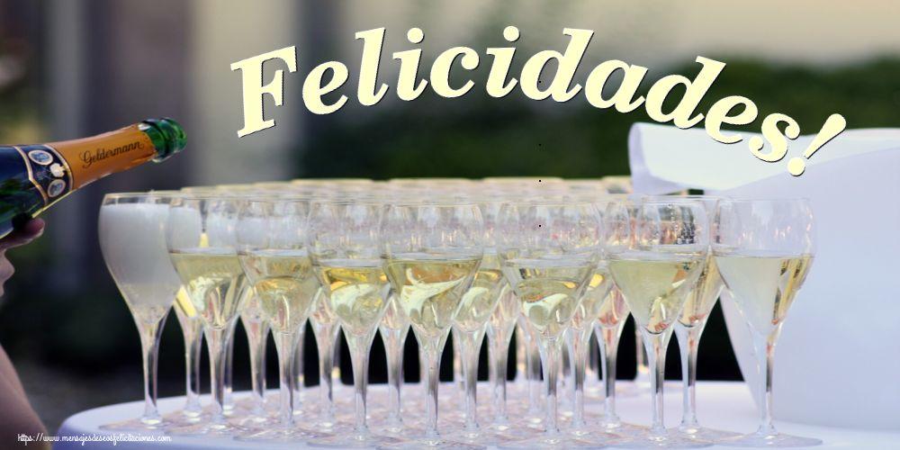 Felicitaciones de cumpleaños - Felicidades!