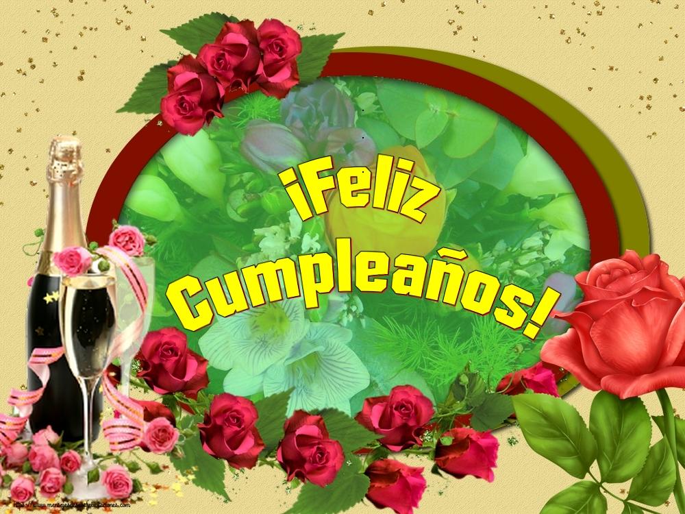 Felicitaciones  - ¡Feliz Cumpleaños!