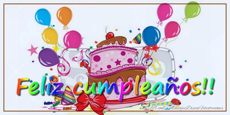 Felicitaciones  - Feliz cumpleaños!!