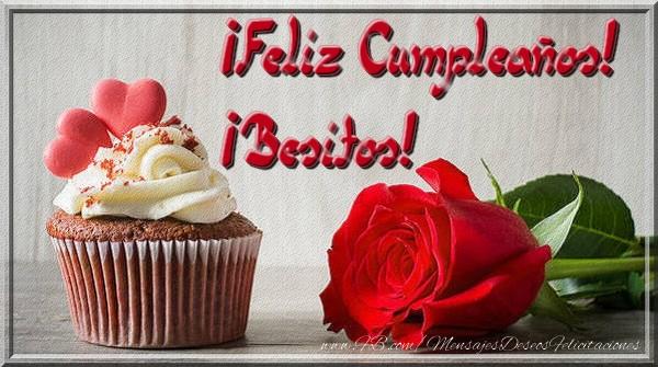 El más popular felicitaciones de cumpleaños - ¡Feliz Cumpleaños! ¡Besitos!