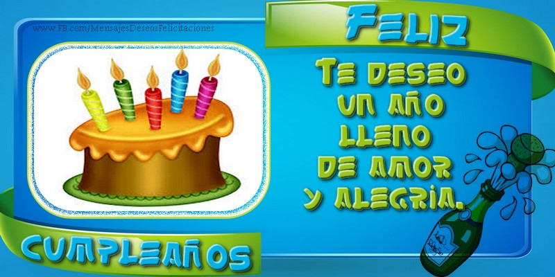 ¡Feliz cumpleaños!