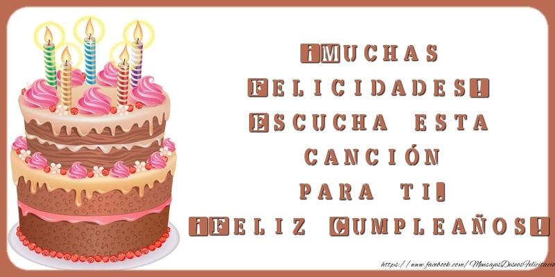 Cumpleaños Muchas Felicidades