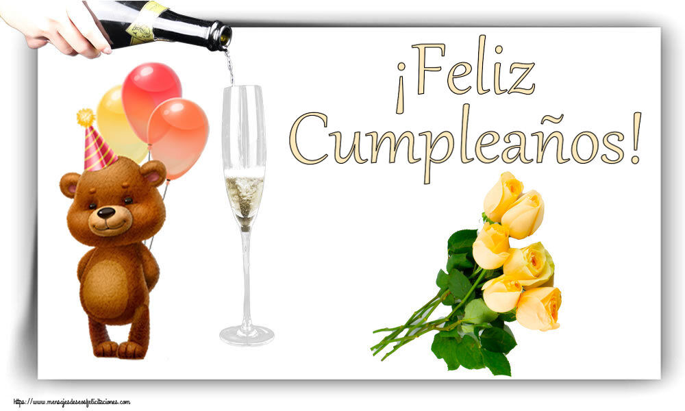 Felicitaciones de cumpleaños - ¡Feliz Cumpleaños!