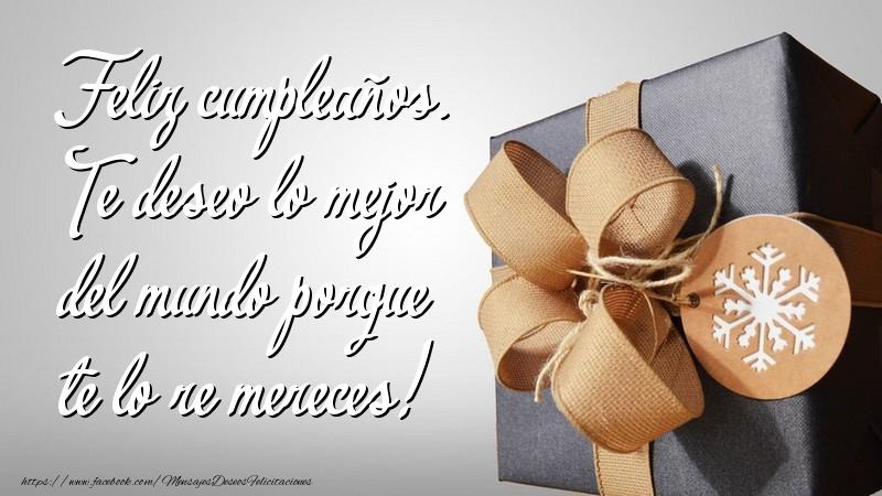 Felicitaciones  - Feliz cumpleaños
