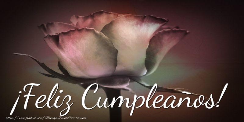 Felicitaciones De Cumpleaños Con Flores: Mensajesdeseosfelicitaciones.com