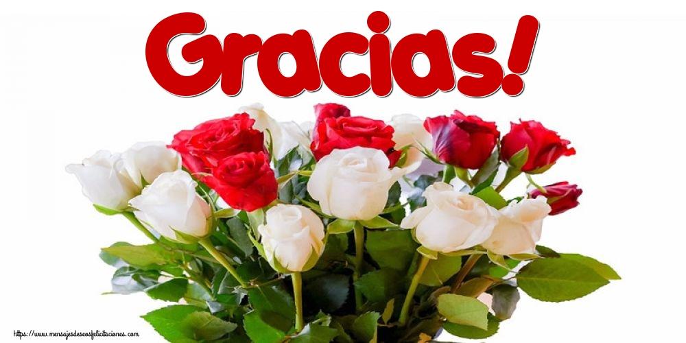 Felicitaciones de gracias - Gracias!