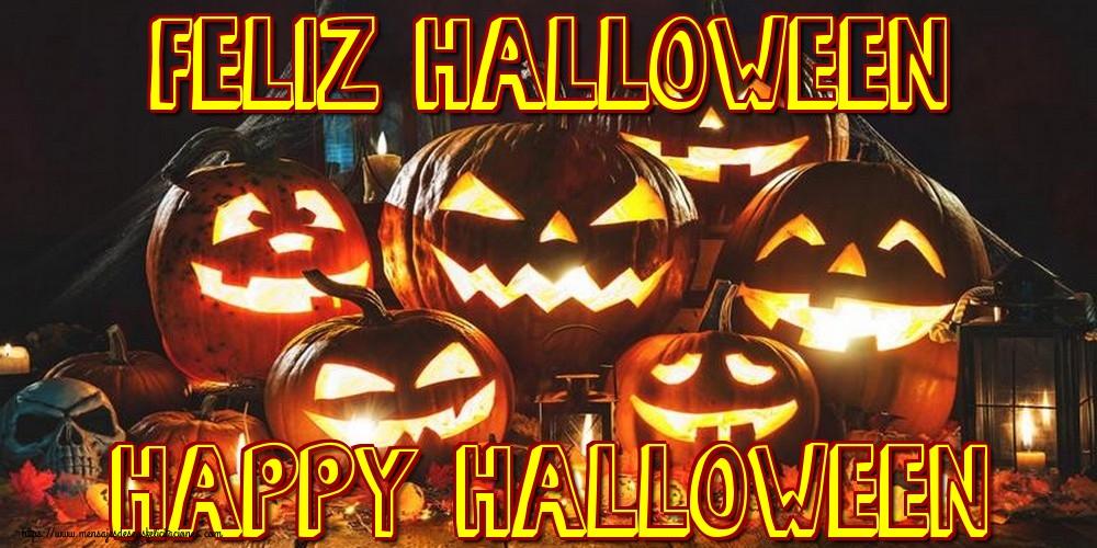 Felicitaciones de halloween - Feliz Halloween Happy Halloween