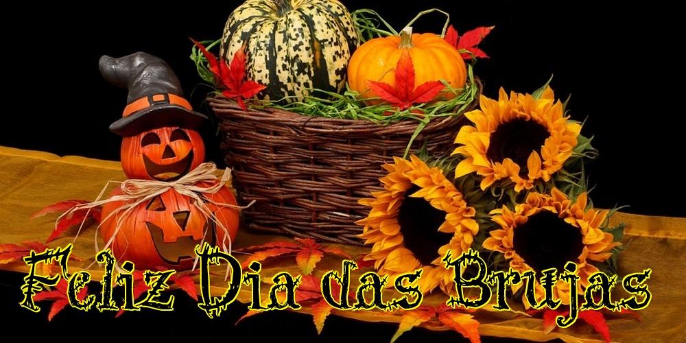 Felicitaciones de halloween - Feliz Dia das Brujas