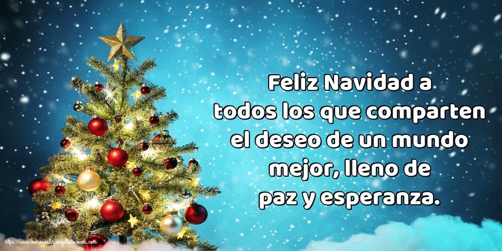 Felicitaciones de Navidad - Feliz Navidad a todos