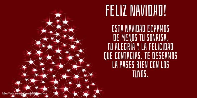 Felicitaciones de Navidad - Feliz Navidad!