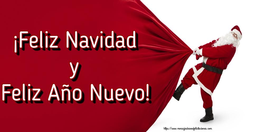 Felicitaciones de Navidad - ¡Feliz Navidad y Feliz Año Nuevo!