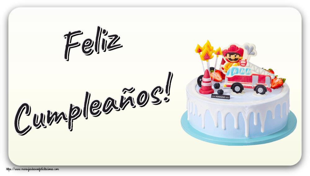 Felicitaciones para niños - Feliz Cumpleaños!