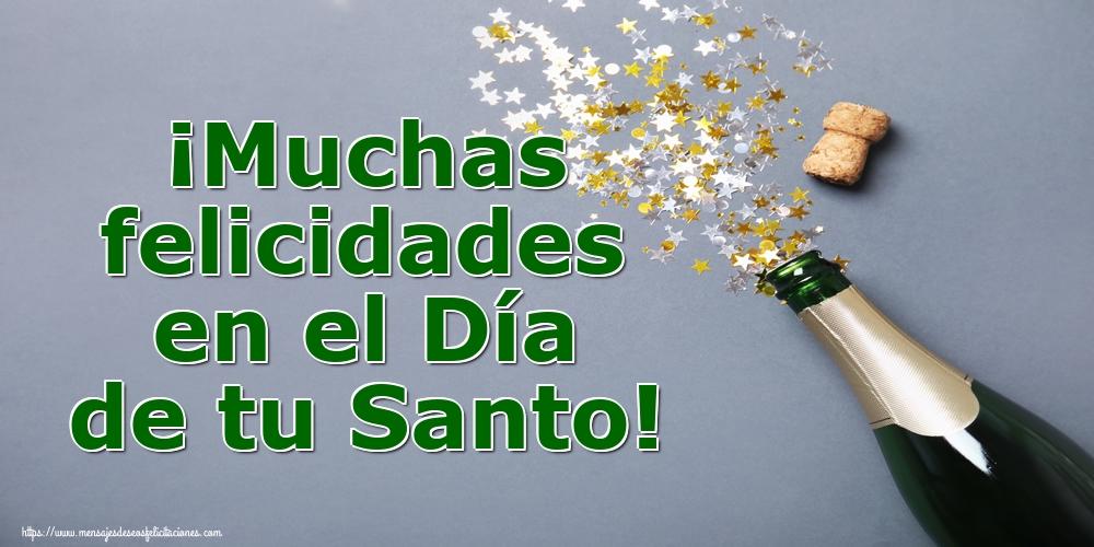 Onomástica ¡Muchas felicidades en el Día de tu Santo!