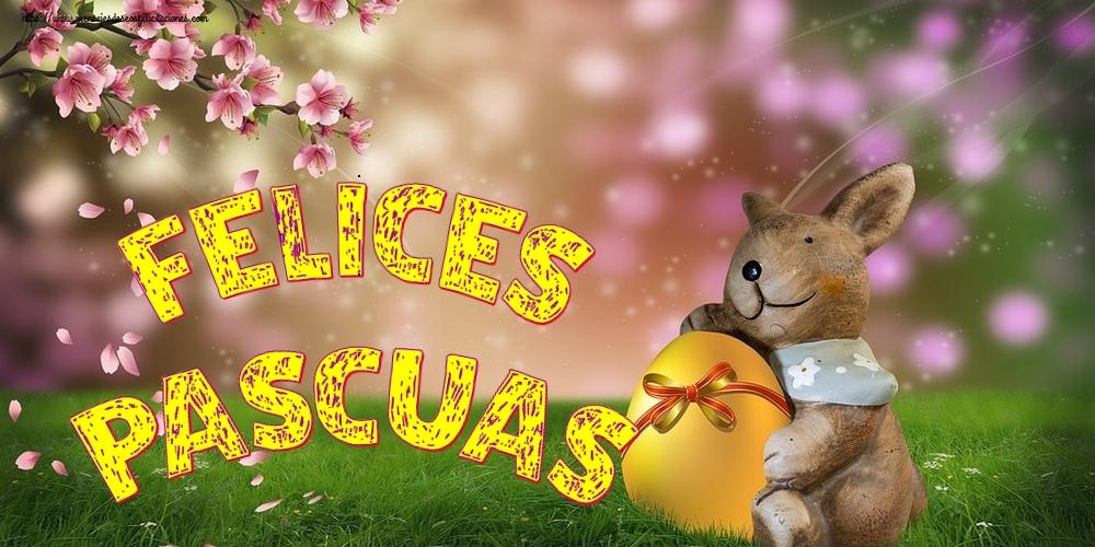Felicitaciones de pascua - Felices Pascuas