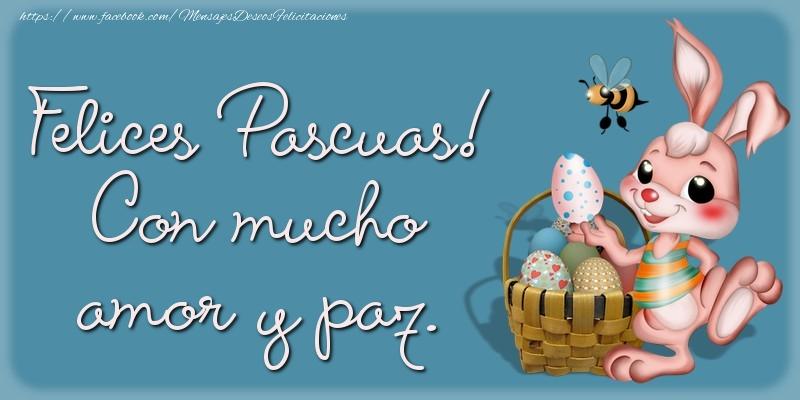 Pascua Felices Pascuas! Con mucho amor y paz.