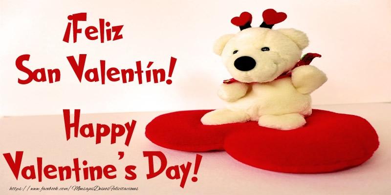 San Valentín ¡Feliz San Valentín! Happy Valentine's Day!