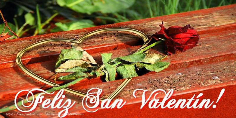Felicitaciones de San Valentín - ¡Feliz San Valentín!
