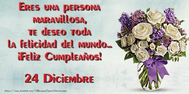 Feliz cumpleanos te deseo toda la felicidad del mundo