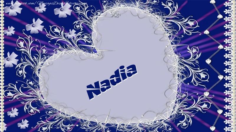 Felicitaciones de amor - Nadia