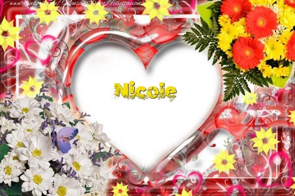 Felicitaciones de amor - Nicole