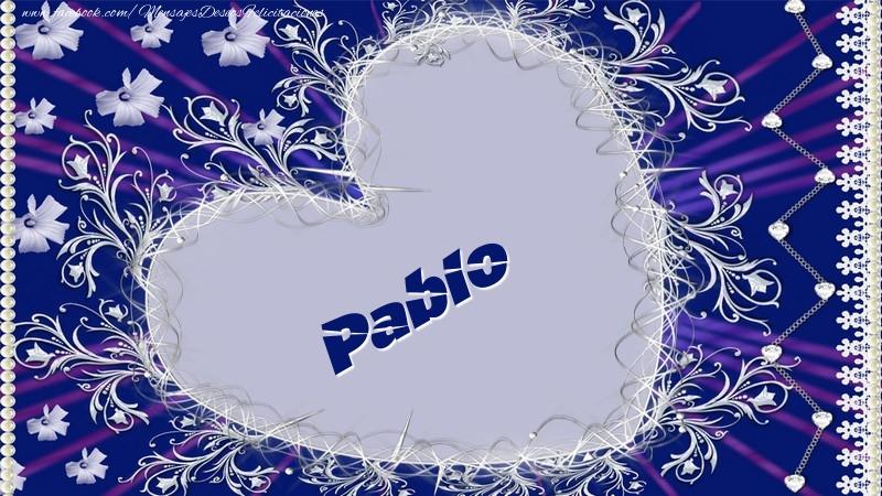 Felicitaciones de amor - Pablo