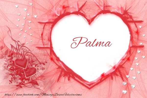 Felicitaciones de amor - Love Palma