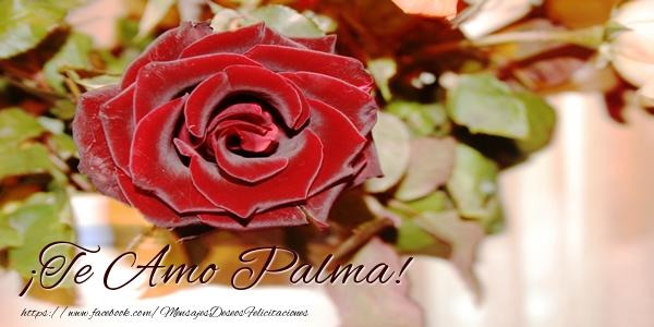 Felicitaciones de amor - ¡Te Amo Palma!