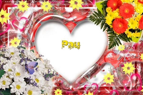 Felicitaciones de amor - Pau
