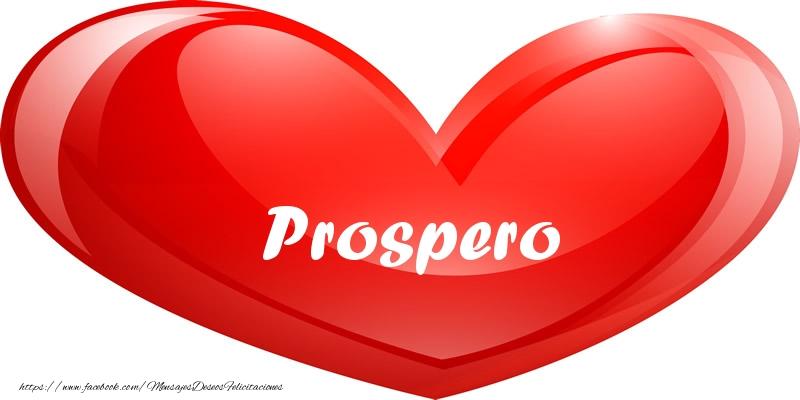 Felicitaciones de amor - Prospero en corazon!