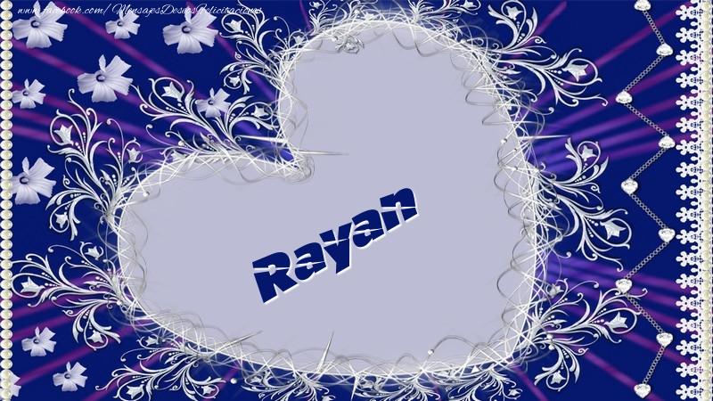 Felicitaciones de amor - Rayan