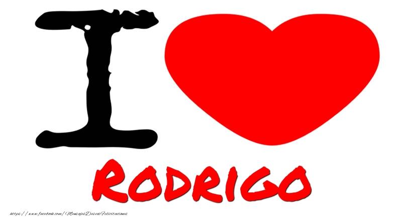 Felicitaciones de amor - I Love Rodrigo