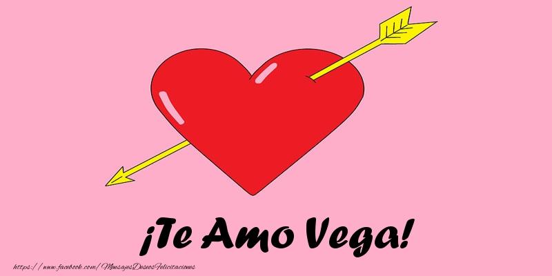 Felicitaciones de amor - ¡Te Amo Vega!