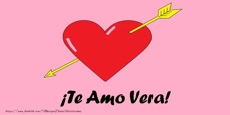 Felicitaciones de amor - ¡Te Amo Vera!