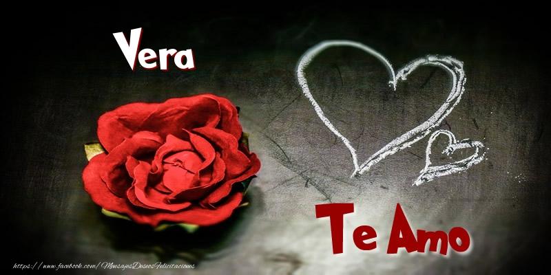 Felicitaciones de amor - Vera Te Amo