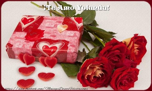 Felicitaciones de amor - ¡Te Amo Yolanda!