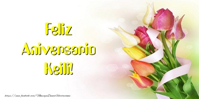 Felicitaciones de aniversario - Feliz Aniversario Keili!