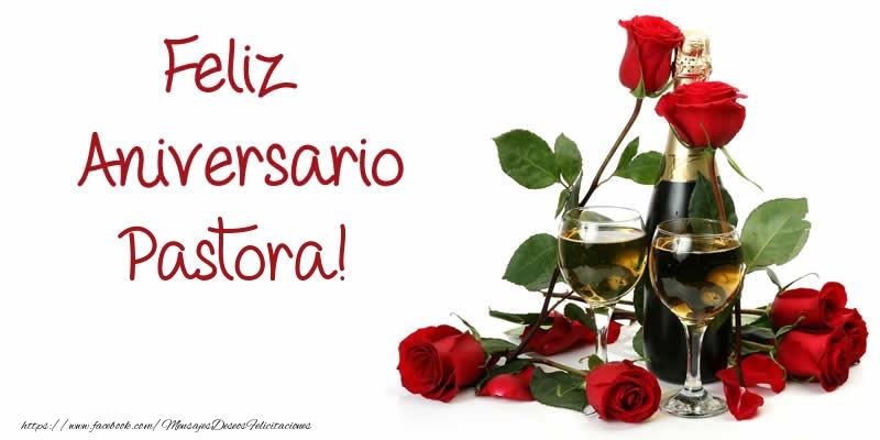Felicitaciones de aniversario - Feliz Aniversario Pastora!