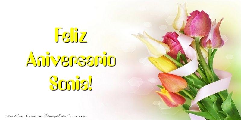 Felicitaciones de aniversario - Feliz Aniversario Sonia!