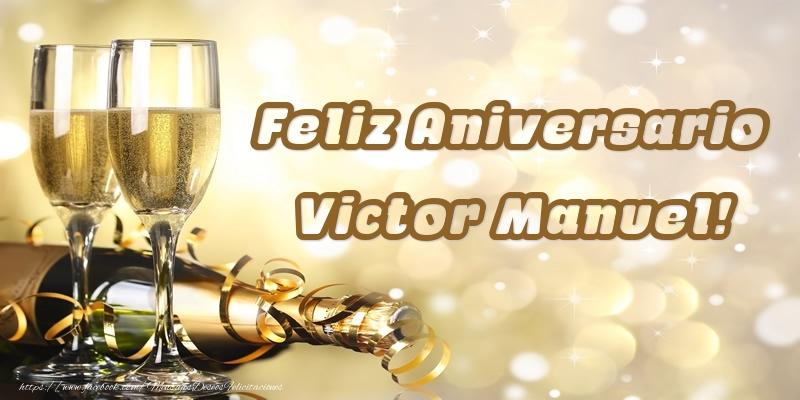 Felicitaciones de aniversario - Feliz Aniversario Victor Manuel!