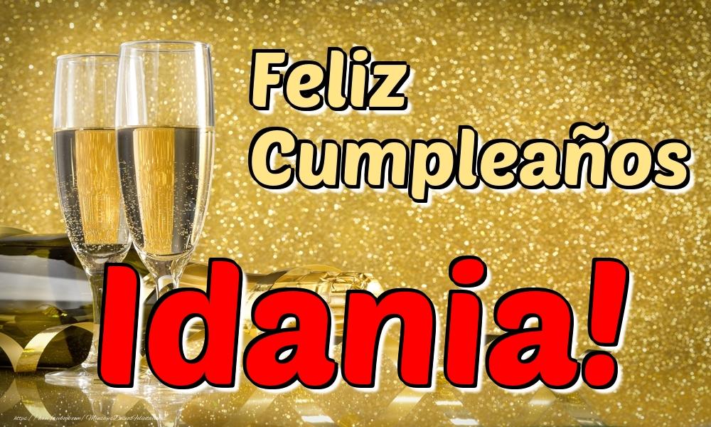 Felicitaciones de cumpleaños - Feliz Cumpleaños Idania!