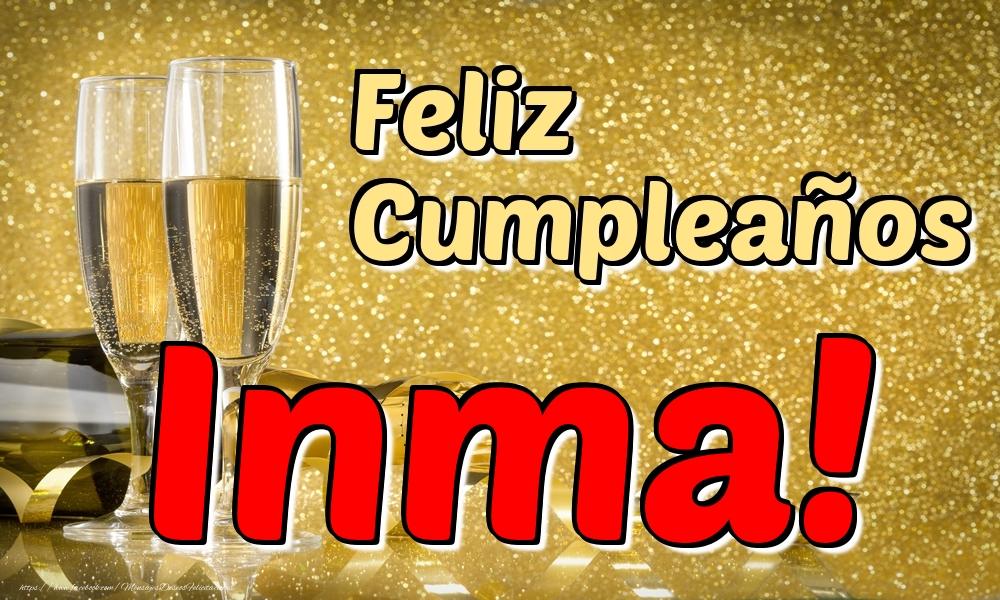 Felicitaciones de cumpleaños - Feliz Cumpleaños Inma!