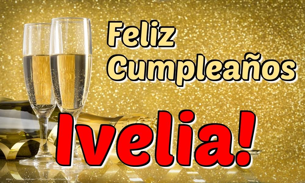 Felicitaciones de cumpleaños - Feliz Cumpleaños Ivelia!