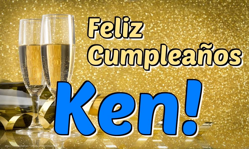 Felicitaciones de cumpleaños - Feliz Cumpleaños Ken!