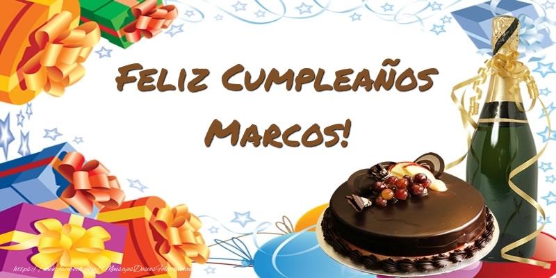 Tartas - Feliz Cumpleaños Marcos! - Felicitaciones de cumpleaños ...