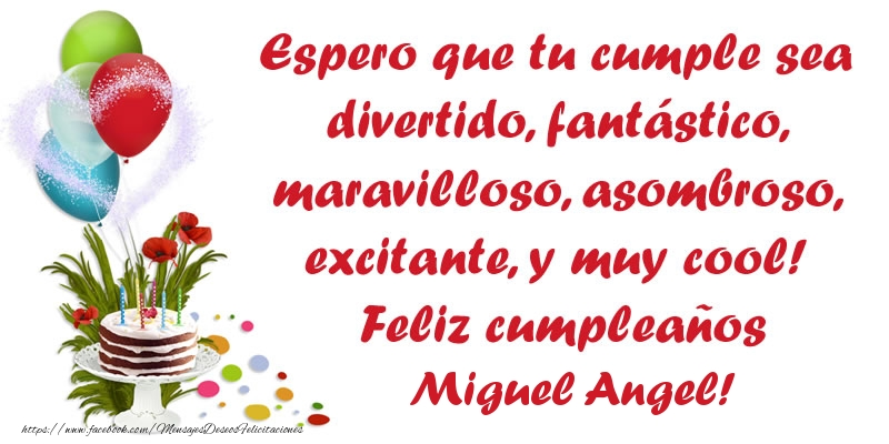 Feliz cumpleanos jose angel