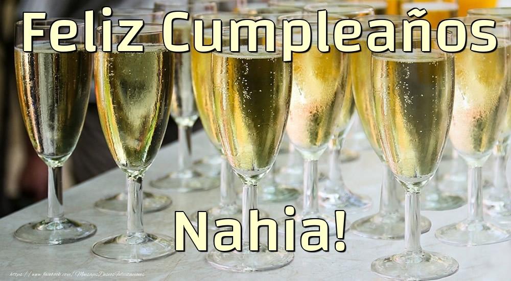 Felicitaciones de cumpleaños - Feliz Cumpleaños Nahia!