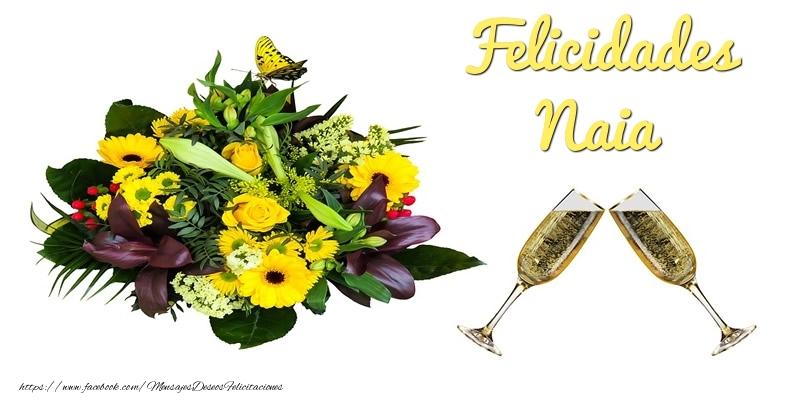 Felicitaciones de cumpleaños - Felicidades Naia